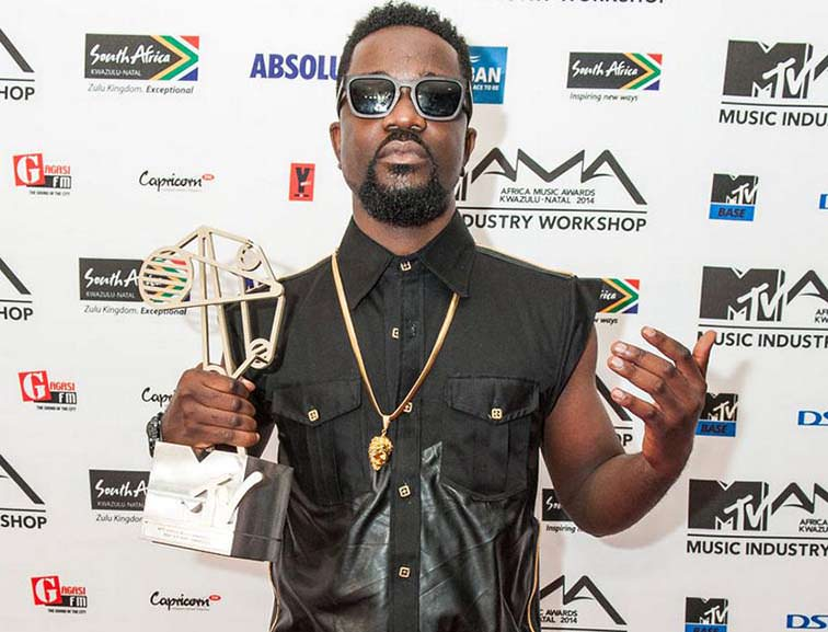 Success: Sarkodie ranked the second highest music earner in Africa