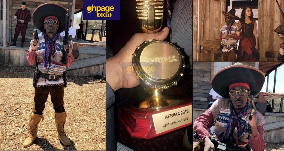 Shatta Wale's Gringo wins Best African Video Award at AFRIMA 2018