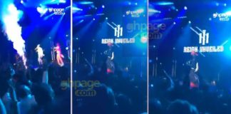 Shatta Wale and his Militants set UK Reign Album edition stage on fire