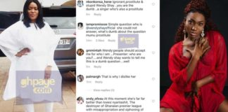 Social media users attack Wendy Shay after 'provoked Joynews' interview