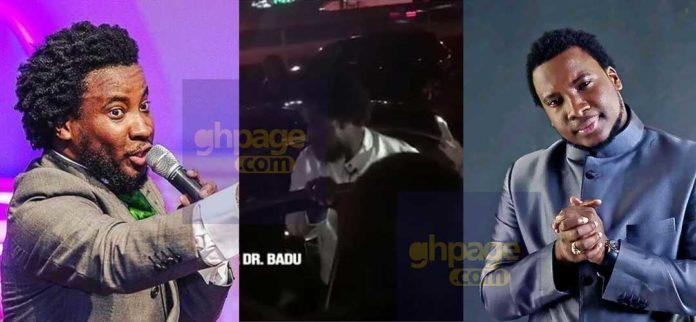 Sonnie Badu receives a brand new Mercedes car church members