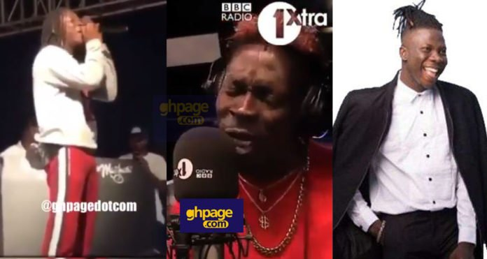 Stonebwoy mocks Shatta Wale over his Freestyle on BBC Radio 1Xtra