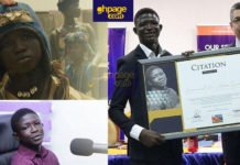"""""""Strika"""" finally receives award 3 years after featuring in the Movie """"Beast of No Nation"""""""