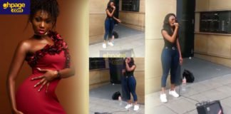 Throwback video of Wendy Shay singing on the streets of Germany pops up on social media