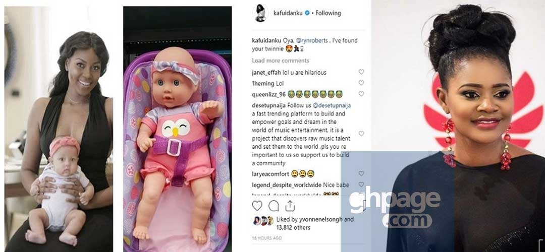 Kafui Danku makes fun of Yvonne Nelson's daughter and it's hilarious
