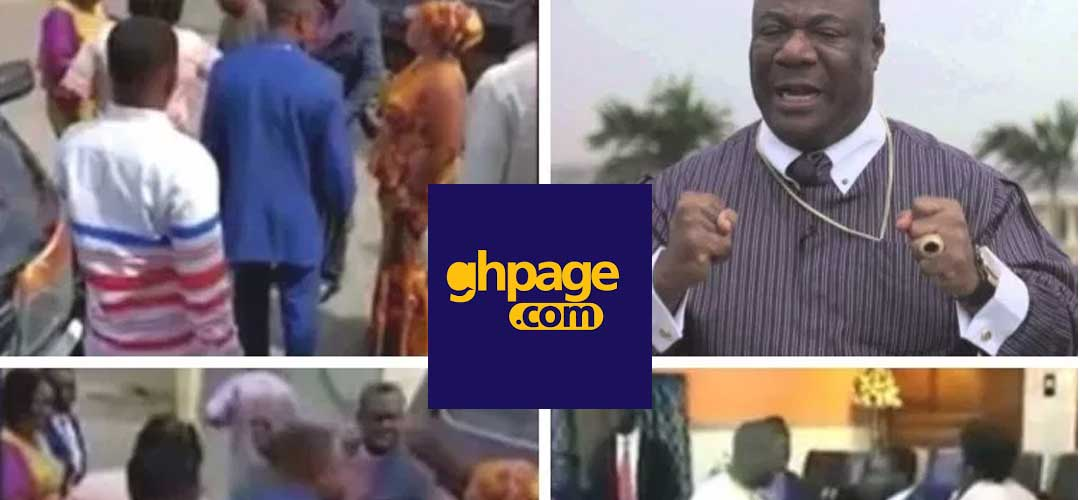 "Action Chapel ""machomen"" storms Tema branch for failing to pay ACI Mother church name franchise"
