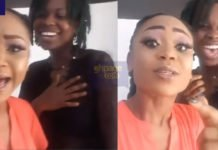 Akuapem Poloo happily hangs out with MTN Hitmaker winner, OV