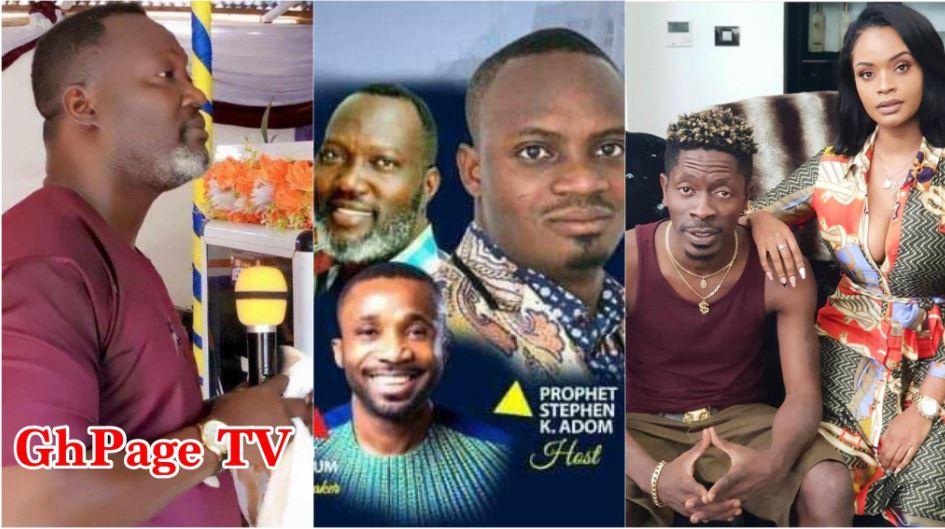 Bishop Bernard Nyarko exposes, blasts prophet Adom over fake Shatta prophecy