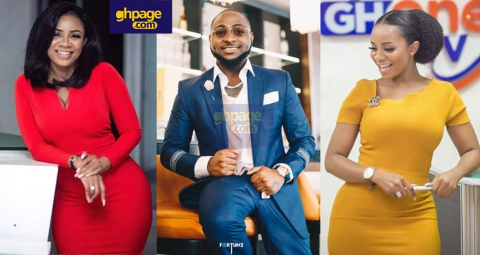 Davido allegedly dating & 'chopping' GH One TV Presenter, Serwaa Amihere secretly