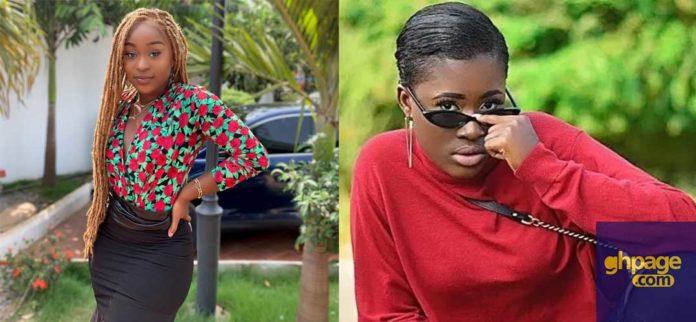 Efia Odo denies knowing Fella Makafui on live radio