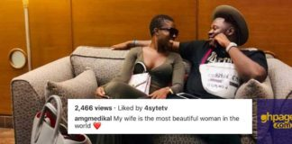 Medikal describes Fella Makafui as the most beautiful woman on earth
