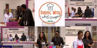 Fella Makafui and Medikal show off their cooking skills on Yvonne Okoro's Dining with Cooks & Braggarts