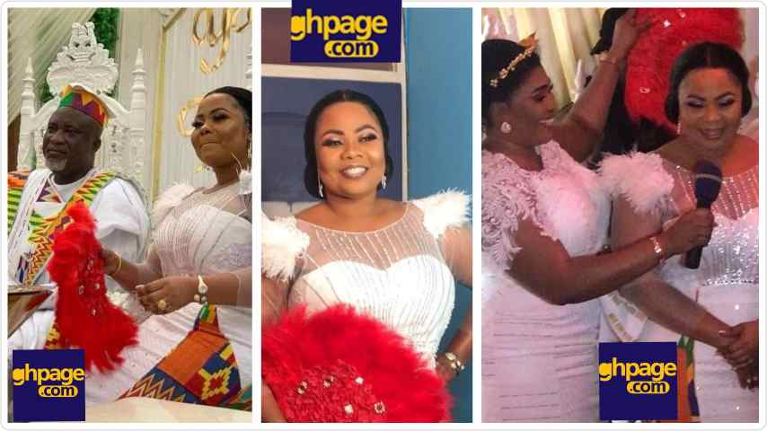 Gospel Musician Gifty Osei finally marries NPP's Mr. Hopeson Adorye