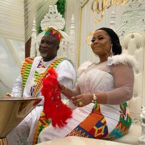 Gifty Osei and husband Hopeson Adorye