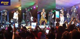 Kuami Eugene lights up Kumasi Sports Stadium on Saturday with his Rockstar Concert