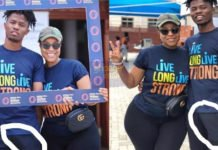 Joselyn Dumas causes Kwesi Arthur's di¢k to slip in latest photos