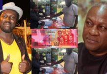 Kumawood actor Michael Afrane donates GH¢1 towards John Mahama's comeback