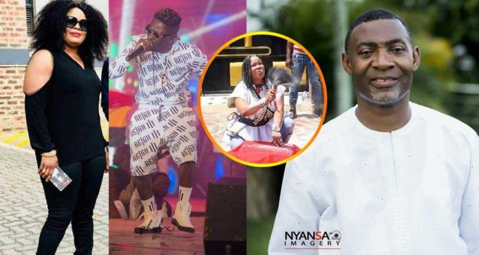 Okomfo Agradaa blasts Dr. Lawrence Tetteh over Shatta Wale prophecy