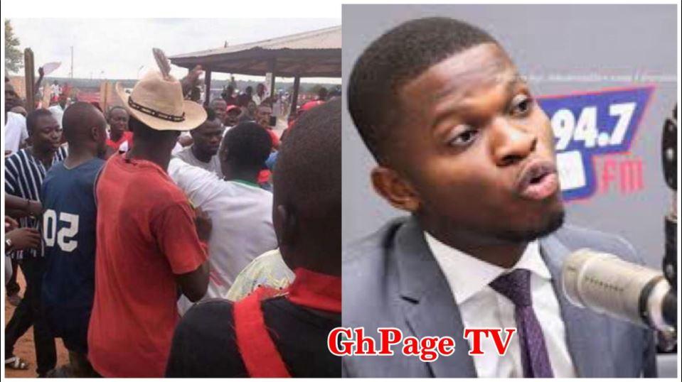 NDC youth exposes Sammy Gyamfi as working against Mahama