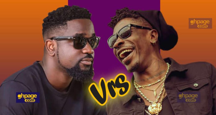 Sarkodie and Shatta Wale 696x371 - Sarkodie had nothing to offer Strongman because he was broke – Shatta Wale