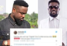 Sarkodie 'questions' his own fans in new tweet over their loyalty
