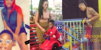 Shatta Michy and Majesty rehearse their yet to be released song