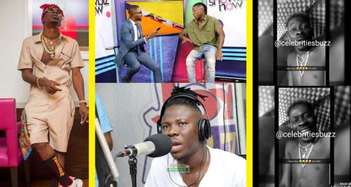 Shatta Wale blasts Stonebwoy for saying he stole Gringo &My Level songs