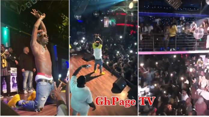 Shatta Wale pulled another massive crowd in Germany-Dusseldorf