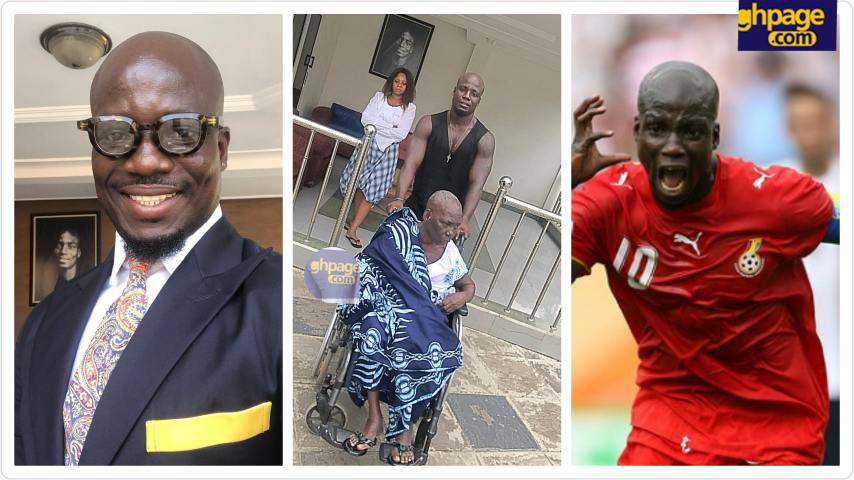 Former Black Stars captain Stephen Appiah loses mother