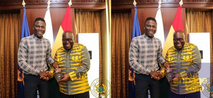 Stonebwoy visits and invites Nana Addo to his Bhim concert