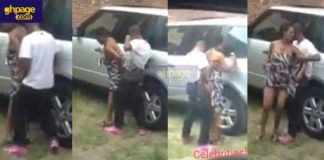 Tamale guy and lover captured doing it on range rover in broad daylight