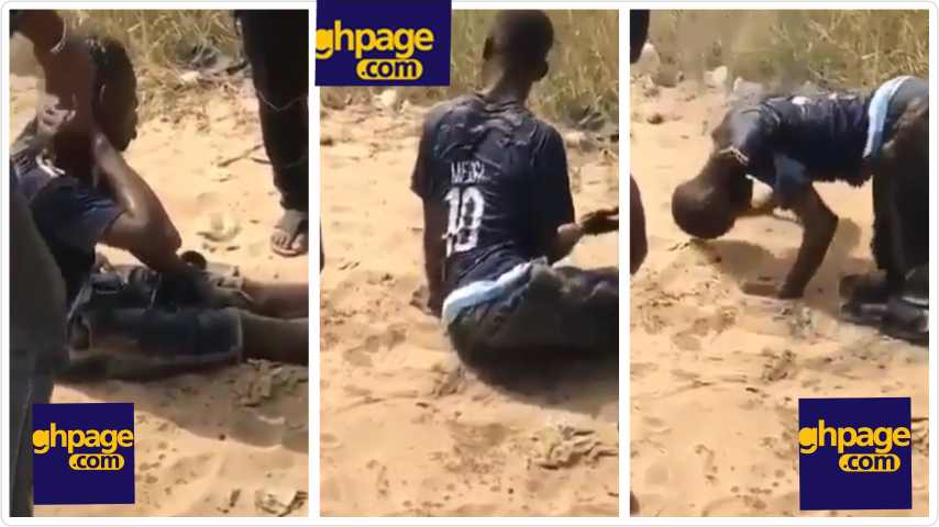 Man spotted walking with his head after he ingests heavy dose of Tramadol (VIDEO)