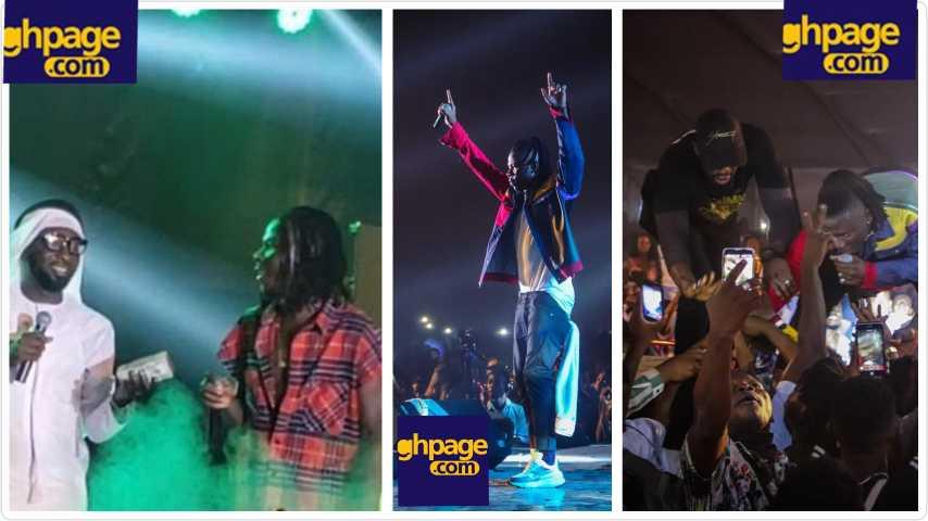 Dubai borga gifts Stonebwoy $50,000 at Bhim Concert (video)