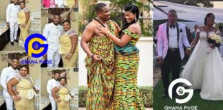 Photos: Borga in hot waters for abandoning his wife in US to secretly marry a Slay Queen in Ghana