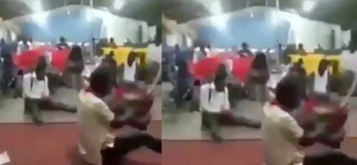 Video of Church members praying with cutlass goes viral