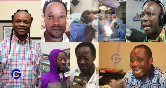 Kumchacha 'fights' Kwaku Bonsam for accusing Daddy Lumba for being the cause of 'Lumba Junior's' illness