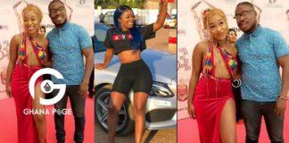 Efia Odo flaunts new boyfriend a month after Kweku Revloe dumped her [Gist+Photos]