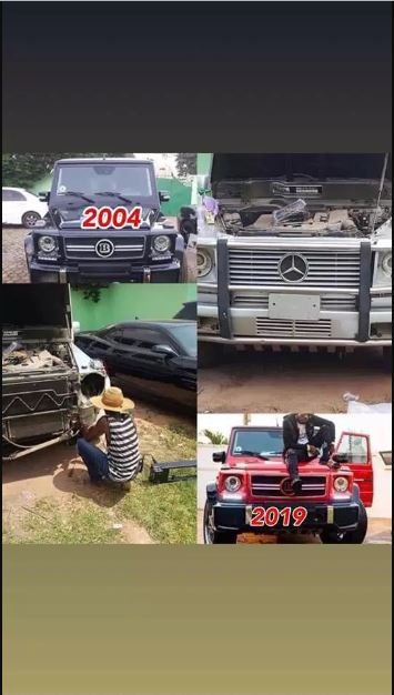 Ibrah One exposes Shatta Wale over fake G-Wagon purchase