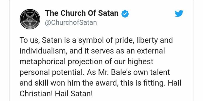 Church of Satan celebrates Christian screenshot