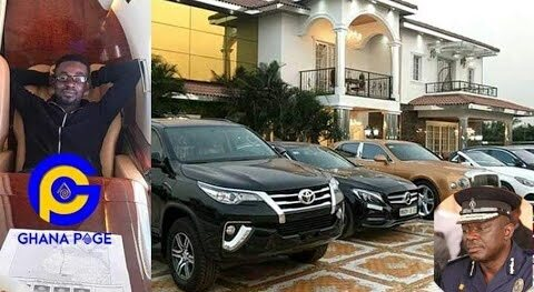NAM1's mansion and luxury cars at Trasacco