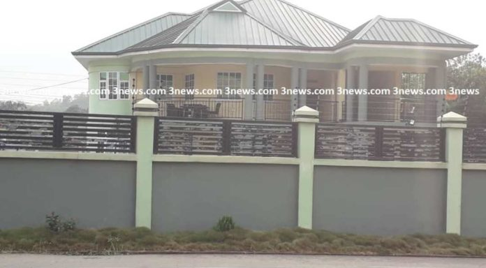 Photo of NAM 1 mothers house in Cape Coast
