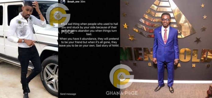 I feel sorry for Nana Appiah Mensah - Ibrah One