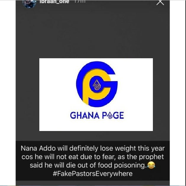 President Akufo Addo will definitely lose weight this year because of fear - Ibrah One teases