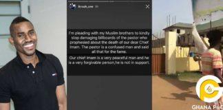Ibrah Wan begs his fellow Muslims to forgive Owusu Bempah