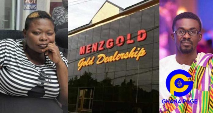 My hubby and I borrowed GH¢24K, GH¢60K from bank and we invested in Menzgold- woman cries