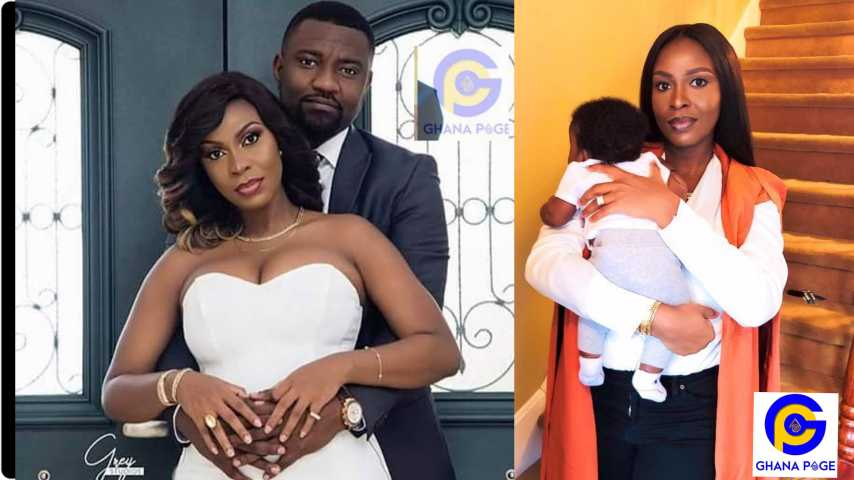 John Dumelo sent wife heart melting message on her birthday