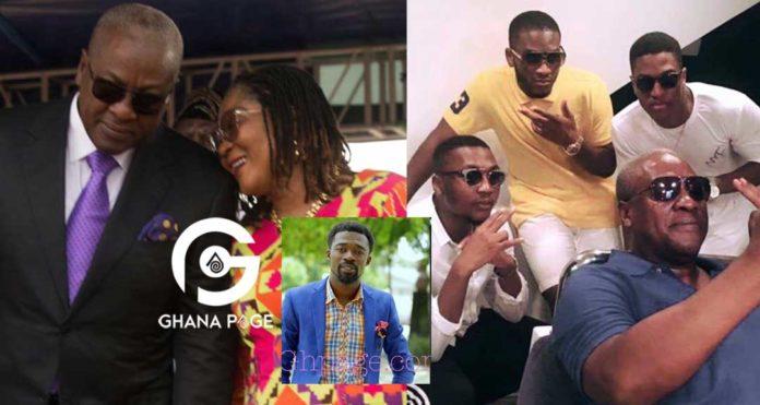 John Mahama's son will die in 2019 - Eagle Prophet