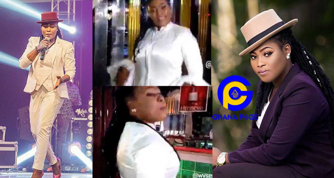 Video of Joyce Blessing chilling in a night club pops up