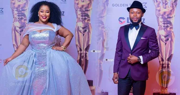 Kalybos' ex-girlfriend Nana Frema blasts him for sabotaging her at the 2018 Ghana Movie Awards