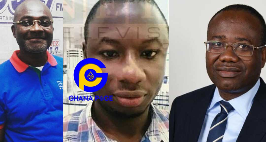 Just In: Police interrogate Kennedy Agyapong and Kwesi Nyantakyi over Ahmed's murder